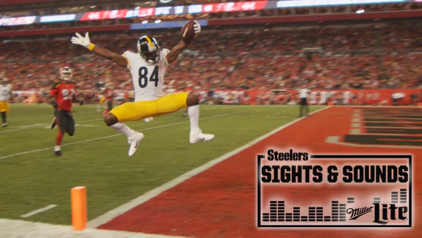 Steelers home pittsburgh steelers steelers check out an exclusive look at the steelers win over the buccaneers on monday night fandeluxe Choice Image