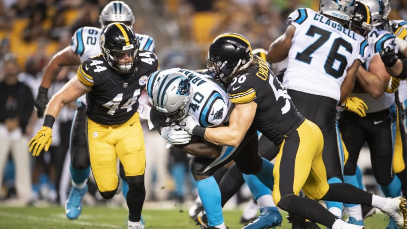 855cef9ce41 A 2018 Preseason game between the Pittsburgh Steelers and the Carolina  Panthers on Thursday August 30th