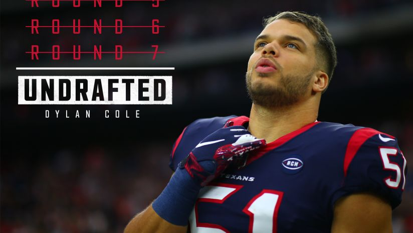 Dylan Cole NFL Jersey