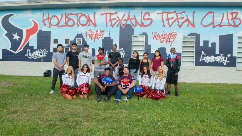 bff338105ed0 2018 Houston Texans Teen Club Graduation