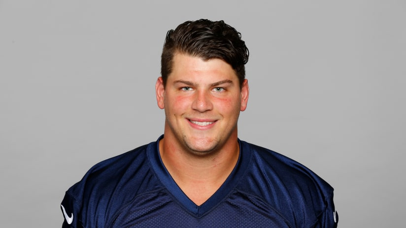 This is a photo of Taylor Lewan of the Tennessee Titans NFL football team.  This fc2db788b