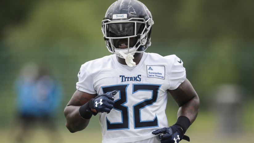 8552e4299 After Weight Gain, There's Even More to Like About Titans RB David Fluellen  - and His Versatility