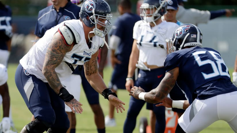 "Titans Rookie Harold Landry  LT Taylor Lewan ""Is Giving Me Tips After Every  Rep 056515e3e"