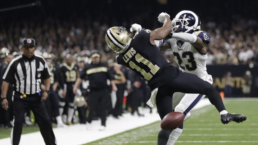 e26806cd820 Photo-Saints-Rams-NFC-Champ-Pass-Interference-012019. Gerald Herbert. New  Orleans ...