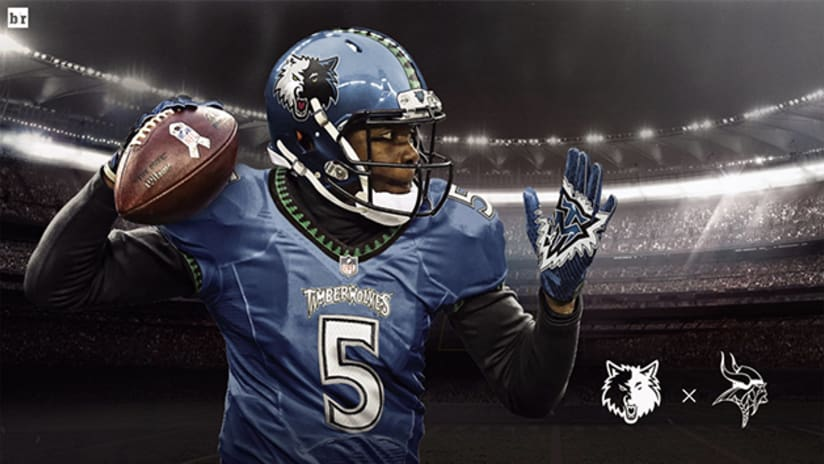 Teddy Bridgewater Featured In T-Wolves