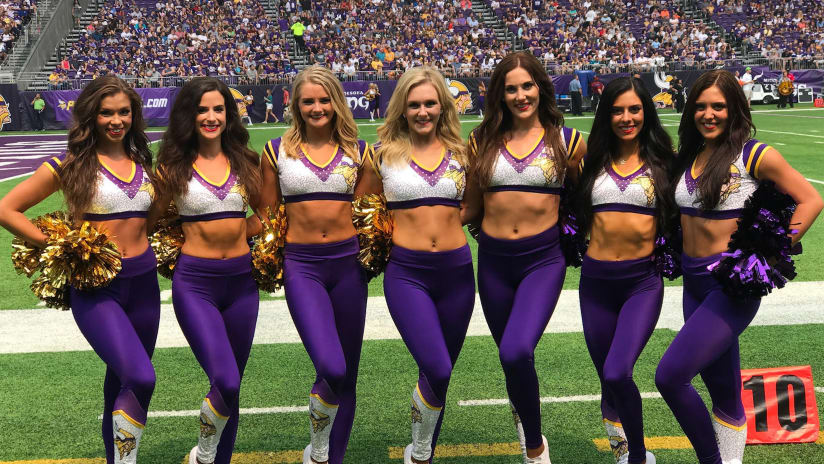 Minnesota Vikings Cheerleaders August Appearances · 2018 MVC Rookies Share  First Game Experience 987aca22f