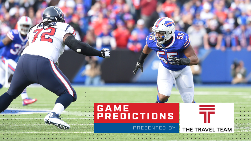 Around the NFL: Bills-Texans game predictions