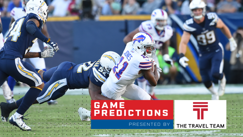 Around the NFL: Bills-Chargers game predictions