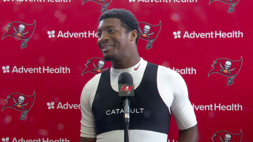 QB Jameis Winston Praises Receivers for Having a Great Camp | Press Conference