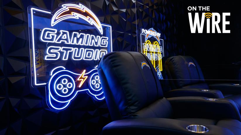 "LA Chargers e McDonald's anunciam o ""Chargers Gaming Studio"""