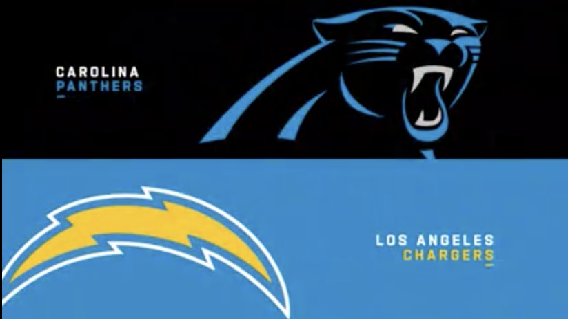 Carolina Panthers At Los Angeles Chargers On September 27 2020