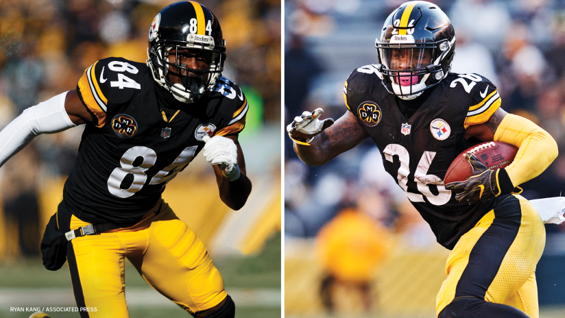 4a87908d94e NFL Notebook  Steelers Announce Major Decisions on Brown and Bell