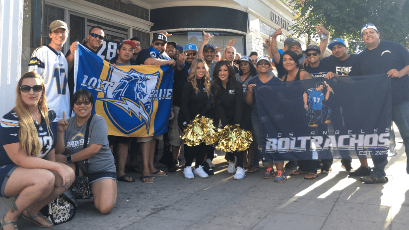 Top Los Angeles Chargers Team Up with Shamrock Social Club to Offer Fans  for cheap