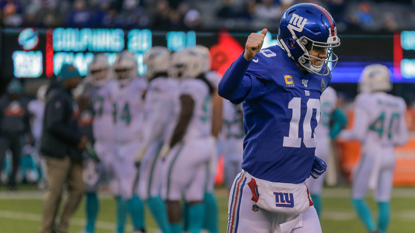 Photos: Giants vs. Dolphins from the sidelines