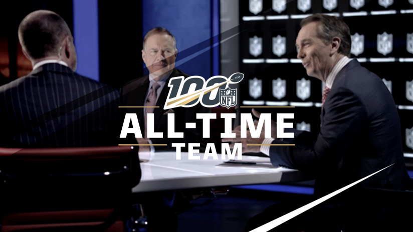 Catch NFL 100 All-Time Team Every Friday on NFL Network