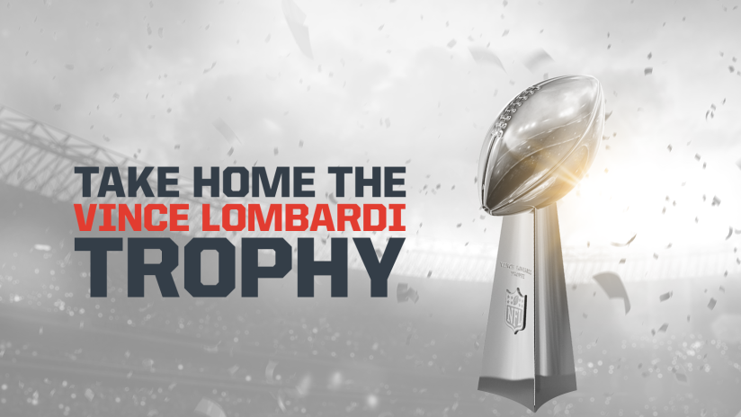 Spend the weekend with the Lombardi Trophy