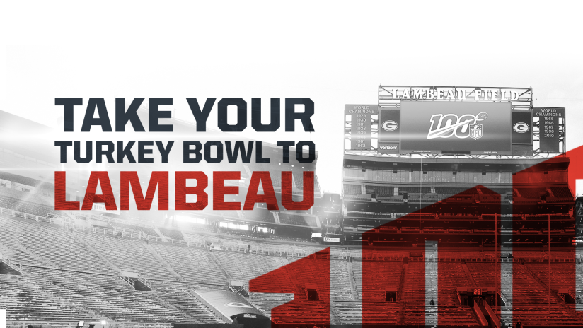 Take Your Turkey Bowl to Lambeau