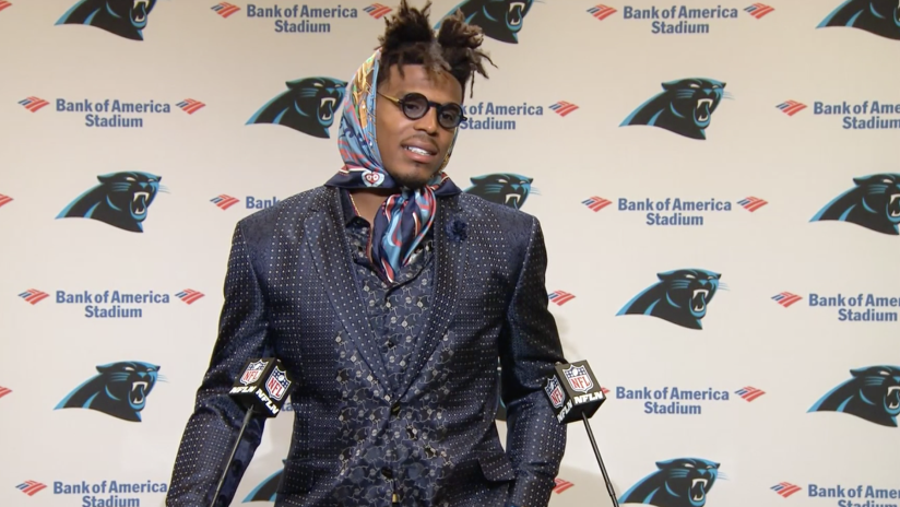 Image result for cam newton press conference