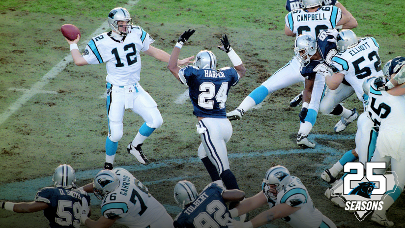 28f6b07703c 25 Seasons of Panthers Football  Down goes Dallas in 1996