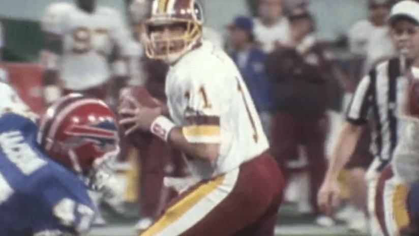 Buffalo Super Bowl 26 Washington Redskins vs