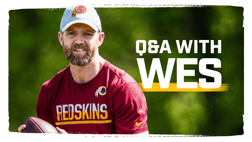609f174e6077a The Redskins' tight ends coach reflects on growing up in a football family,  his evolution as a coach and the joy he has working with his position group.