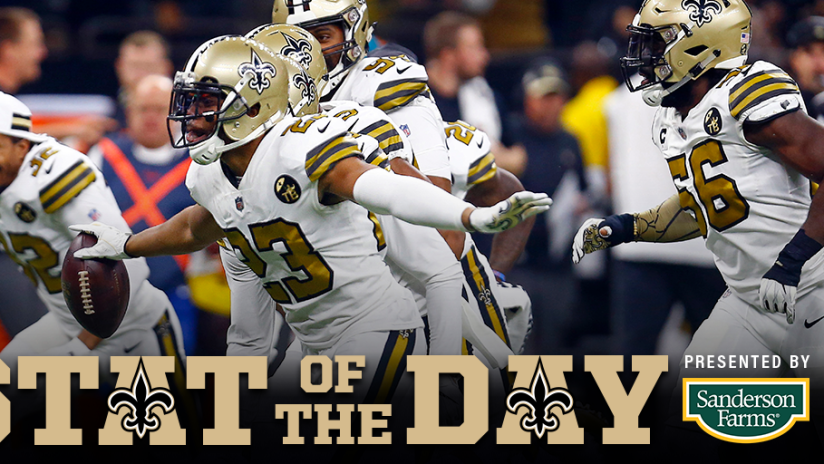 New Orleans Saints Stat of the Day for Friday 91f6609ae