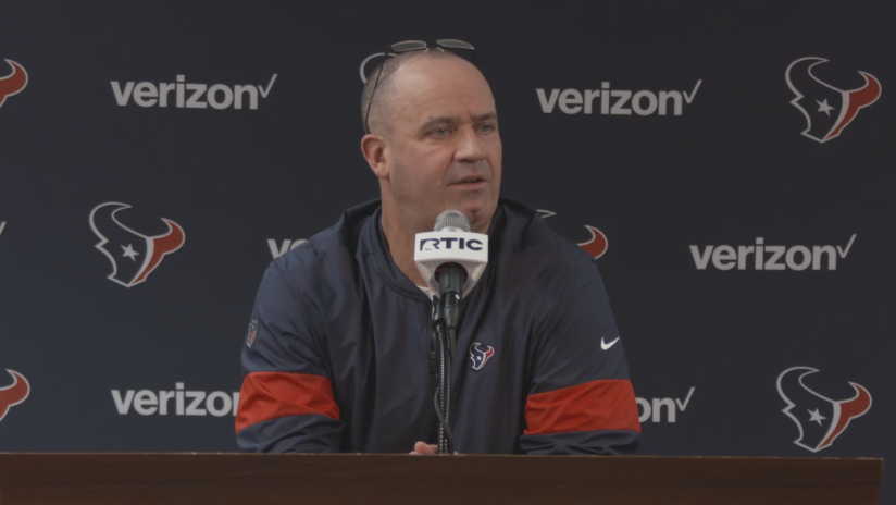 Bill O'Brien on difficulties facing roster cuts, more