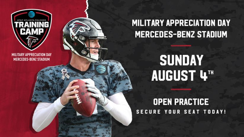 low priced a0409 52535 Falcons to hold Military Appreciation Day for final training ...