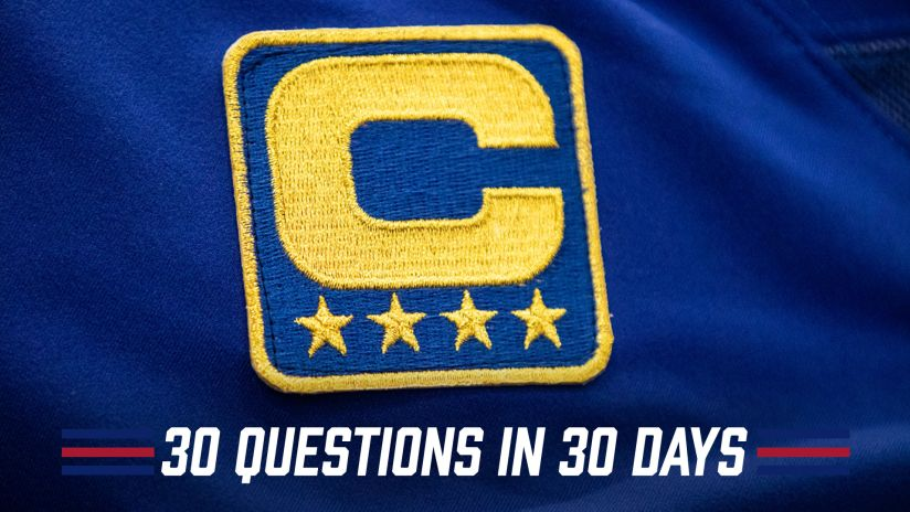 30 Questions in 30 Days: Who will be captains?