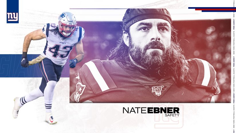Giants agree to terms with S Nate Ebner