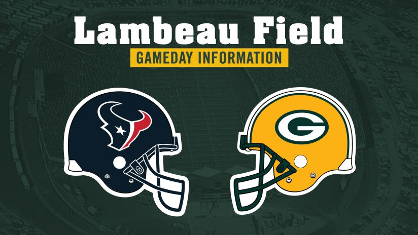 Packers Gameday Information | Green Bay Packers – packers com