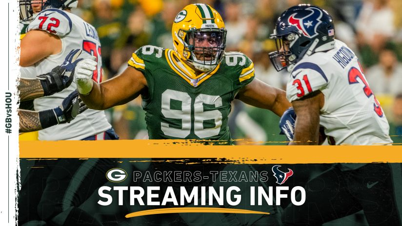 How To Stream Watch Packers Texans Game On Tv