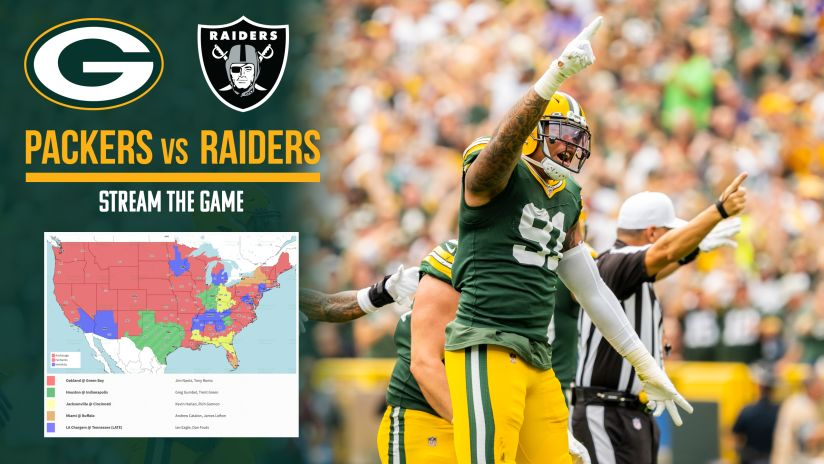 How To Stream Watch Packers Raiders Game On Tv