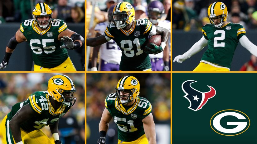 Packers Name Captains For Texans Game