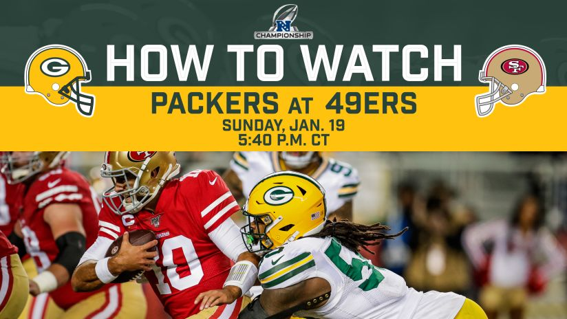 How To Stream Watch Packers 49ers Nfc Championship Game On Tv