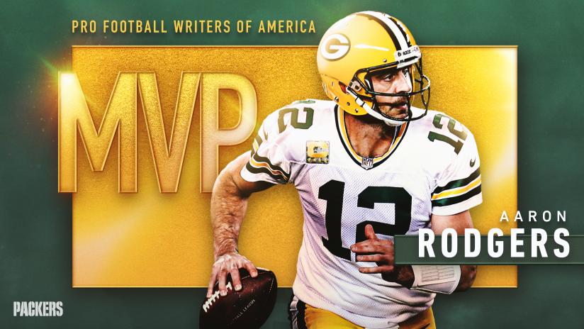 PFWA names Packers QB Aaron Rodgers its 2020 MVP