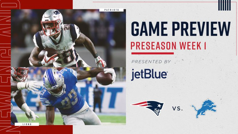 Game Preview: Patriots at Lions
