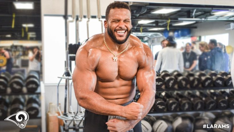 I ate like Aaron Donald and here's what happened