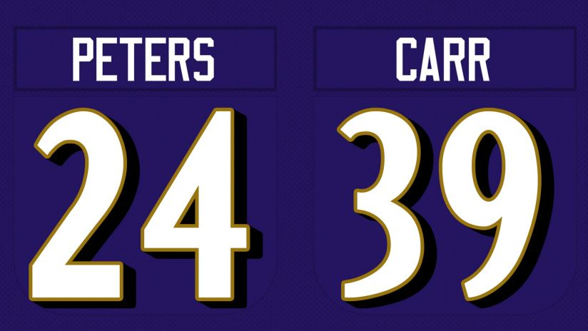 Marcus Peters Swaps Jersey Numbers With Brandon Carr