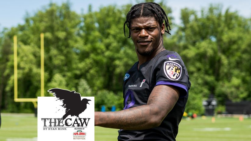 The Caw: Lamar Jackson Reacts to His Low Madden Rating