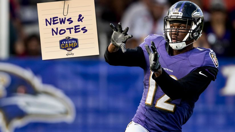 News & Notes 8/13: Confident Jaleel Scott Is Making Plays