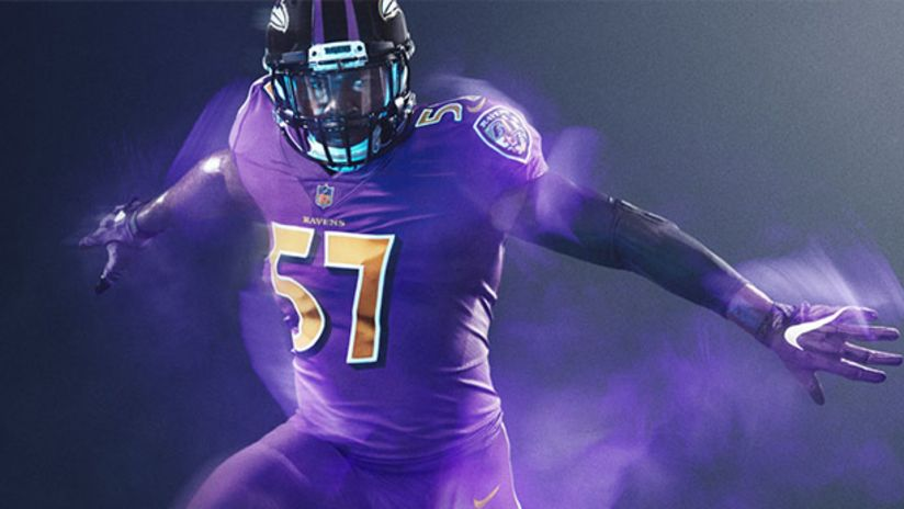 Ravens To Go With All-Purple Uniforms For Color Rush Game