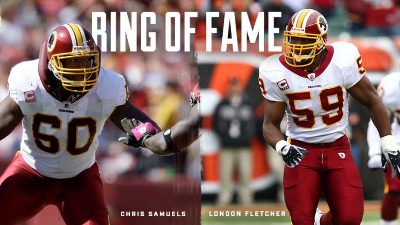 a963f2bb Redskins To Honor London Fletcher, Chris Samuels With Induction Into ...