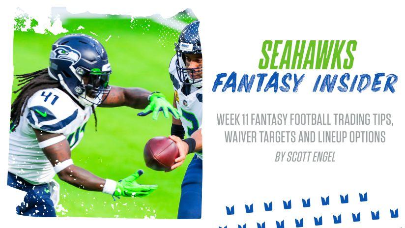 Week 11 Fantasy Football Trading Tips Waiver Targets And Lineup Options
