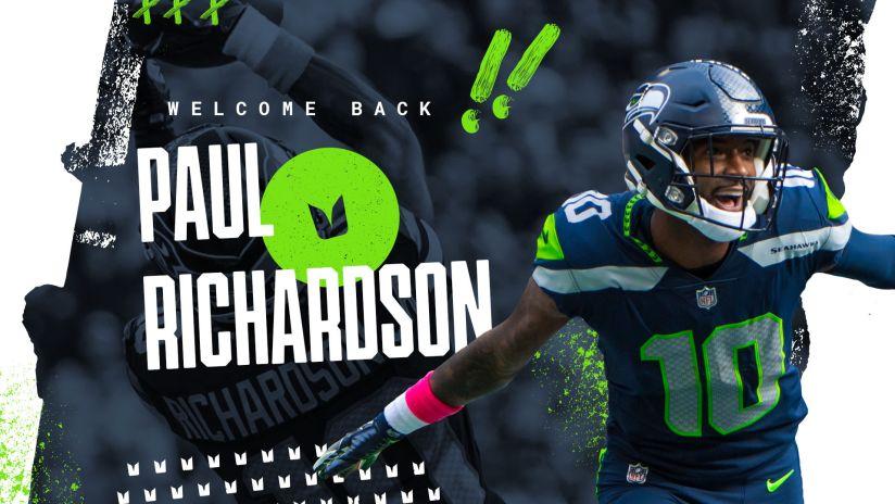 Seahawks Sign Receiver Paul Richardson