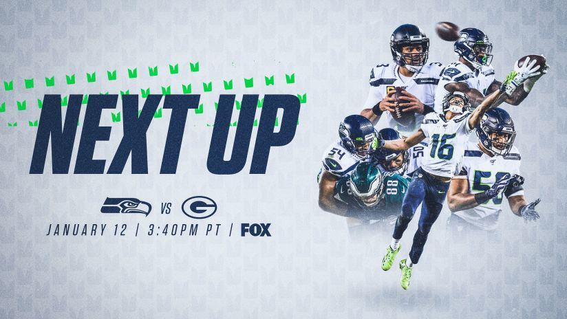 Seahawks Play At Green Bay In Divisional Round Next Sunday