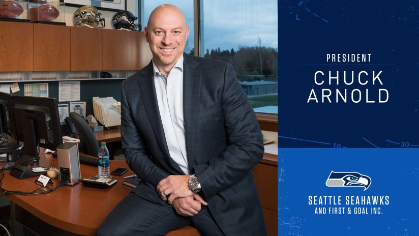 Chuck Arnold Named President Of Seahawks And First & Goal Inc