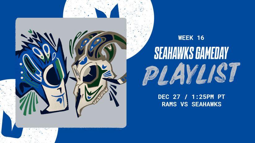 Seahawks Gameday Playlist Week 16