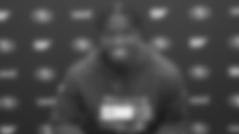 Jaquiski Tartt Previews Matchup with Daniel Jones and the Giants Offense