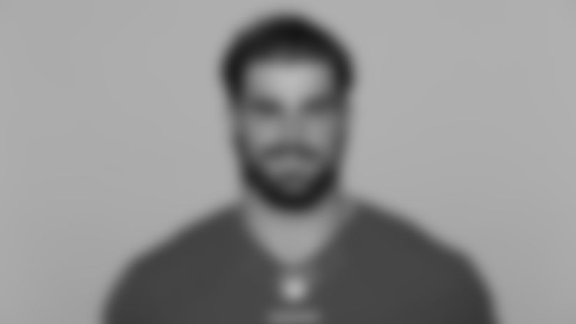 This is a 2021 photo of Dakoda Shepley of the San Francisco 49ers NFL football team. This image reflects the 49ers active roster as of Day, May 20, 2021 when this image was taken. (AP Photo)